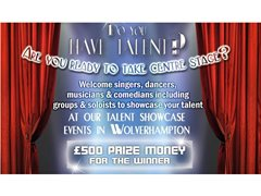 Do You Have Talent? Singers, Dancers, Musicians Wanted for Talent Showcase