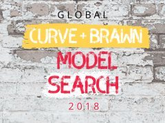 Launch your modelling career with our Global Curve & Brawn Model Search!