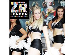 Auditions for Pom Team: ZR London Cheerleaders