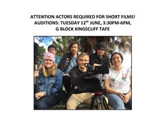 Actor's Wanted for Student Short Films in Kingscliff