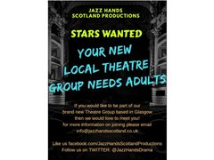Jazz Hands Scotland Productions - New Members Wanted