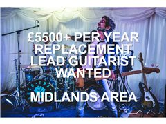 Wanted: Replacement Lead Guitarist for Established Midlands Wedding Band