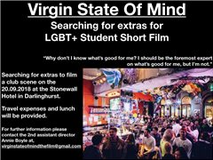 Extras Required for a LGBT+ Short Film