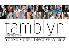 BE DISCOVERED - The 2018 Tamblyn Young Model Search is Here!