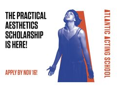 Atlantic Acting School's Practical Aesthetic Scholarship - France
