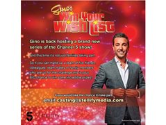 Contestants For The Brand New Series of 'Gino's Win your Wish List'