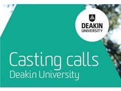Register Your Interest for Deakin University Project Castings!