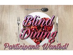 One Main Contestant Wanted for Student Dinner Date Series