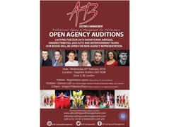 Singers, Dancers and Performers - New Agency Representation Opportunity