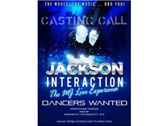 "Dancers Required for ""Jackson Interaction"" Production"