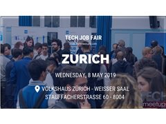 Videographer Needed for Zurich Tech Job Fair - Spring 2019