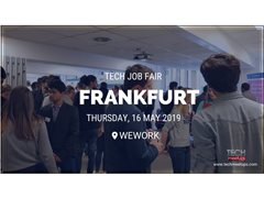 Videographer Needed for Frankfurt Tech Job Fair - Spring 2019