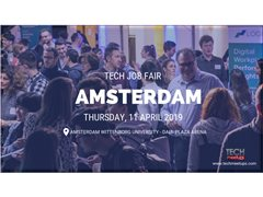Photographer Needed for Amsterdam Tech Job Fair - Spring 2019
