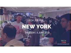 Videographer Needed for New York Tech Job Fair - Spring 2019
