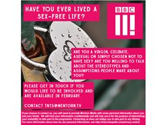 BBC3 are Looking for People Who are Celibate