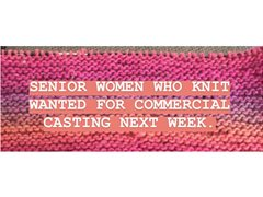 Grannies needed for Car TVC
