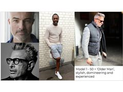 3x Models required - 2x Male 1x Female. Campaign Lifestyle shoot. Big Brand