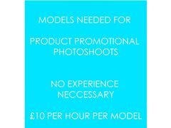 Models Needed in London for a Product Photoshoot