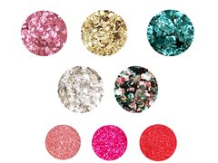WILLIAMSPRO GLITTER BEAUTY CAMPAIGN - Made from Plants not Plastic!