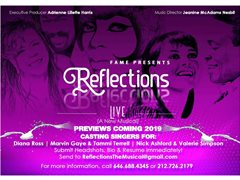 "Professional Singers for ""Reflections The Musical"" Concert Series"