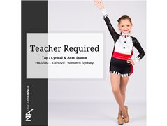 Dance Teacher Required – Hassall Grove location