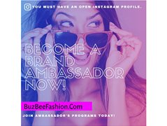 Ambassador/Influencer Wanted