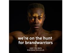 Southampton Based Brand Warrior/Promo Staff Required