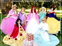 Kid's Party Character Entertainers - FRESNO/TULARE COUNTY ONLY