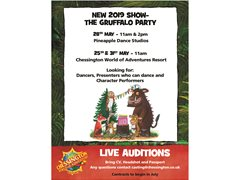 Dancers/Character Performers New Live Show - The Gruffalo Party