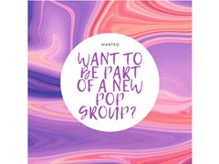 Female Singers Wanted for a New POP Group