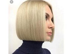 Free One Length Bob Cut