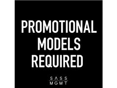 Queensland - Promotional Talent - Male & Female