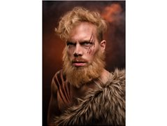 5 x Male Models for Vikings Inspired Makeup Photoshoot
