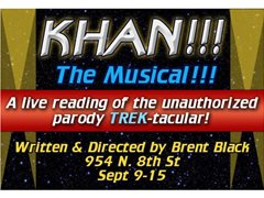 'Khan!!! The Musical!!!' Star Trek Parody - Staged Reading