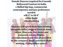 6 Month Bollywood Dance Contract