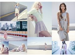 Experience Model for Fashion Editorial in City