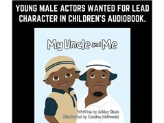 Young Male Actors Wanted for Lead Character in Children's Audiobook