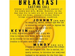 """Main & Supporting Actors for Short Student Film """"Breakfast"""""""