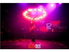 Twisted Circus Event for New Year Eve