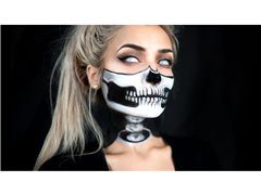 Makeup Artist Required for a High-Fashion Halloween Inspired Makeup Look