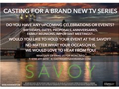 People Who Would Like to Celebrate at The Savoy