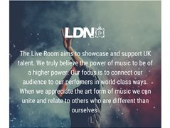 Performers for The Live Room