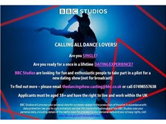 BBC TV Pilot Looking for Single Professional Dancers to Take Part