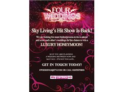 Four Weddings UK - calling all brides!