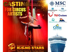 Circus Artists (All Genres) - Cruise Ship & 5* Hotels Contracts
