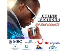 Male Singers for Cruise Ships