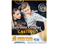Professional Ballroom Couples for Cruise Ship Contracts