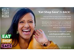 Casting Call for Families - Lifestyle Programme - Eat Shop Save