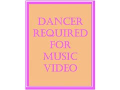 A Female Dancer Required for a Bollywood-Type Music Video