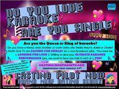 Casting Singles That Love Karaoke! We Want To Hear You Sing!